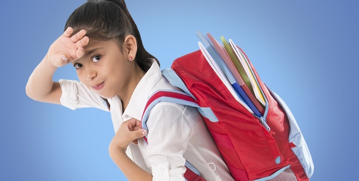 The prevalence of back pain in school kids who use backpacks is pretty high.